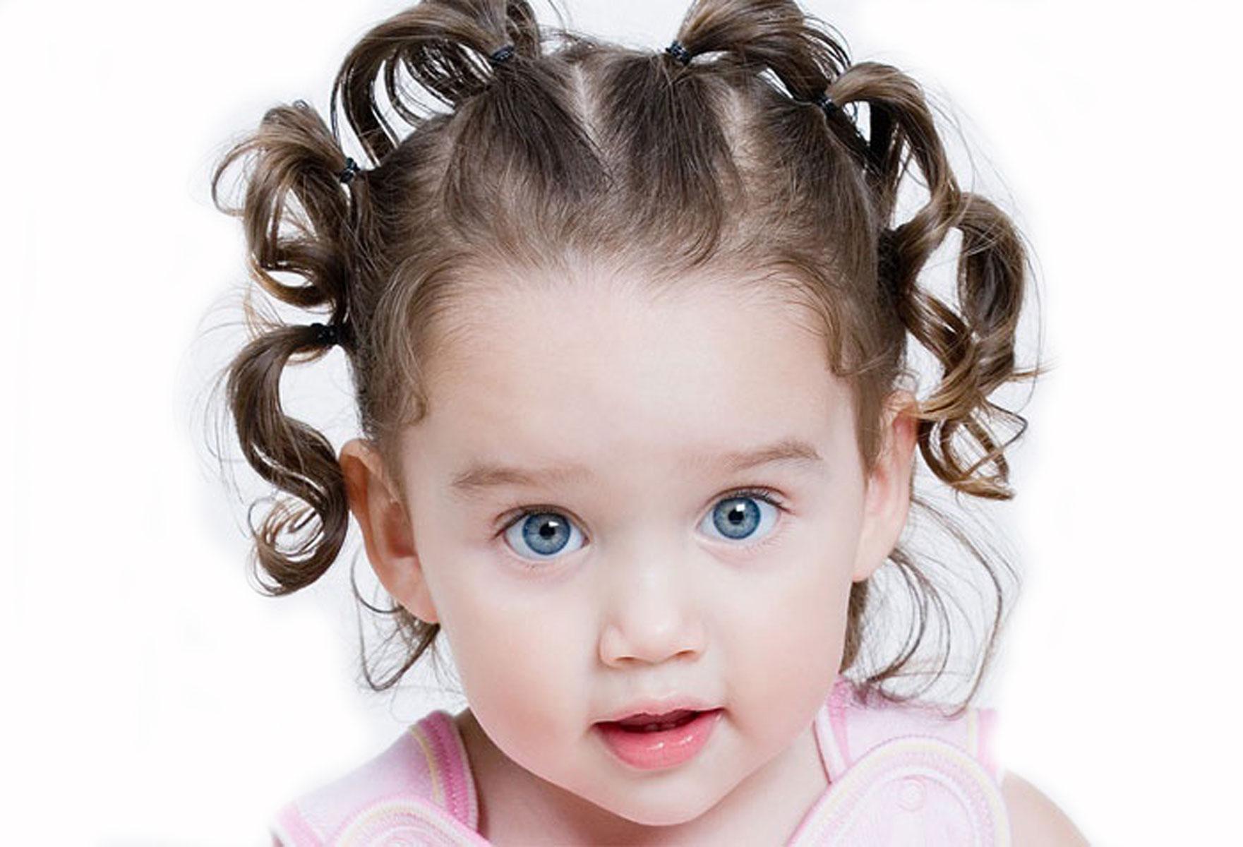 Фото детей с волосами в 2 года
