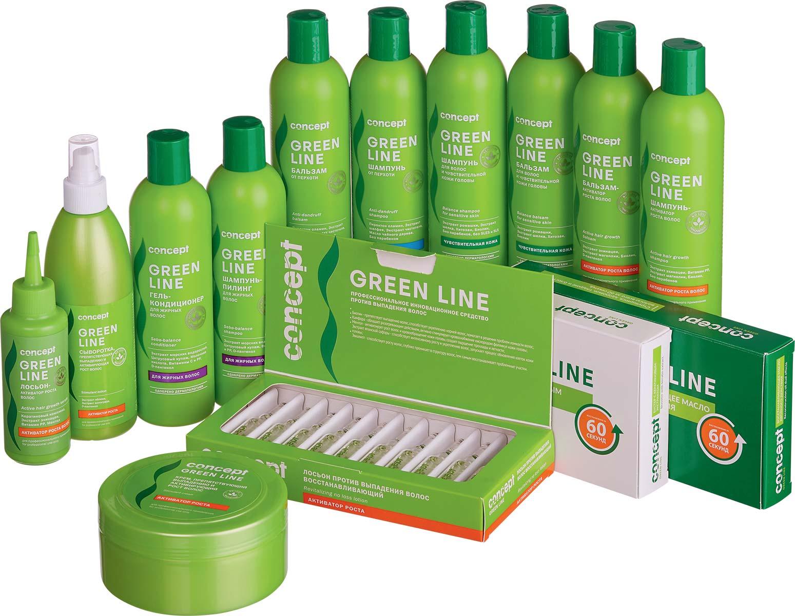 Косметика green line купить купить сэмплы косметики